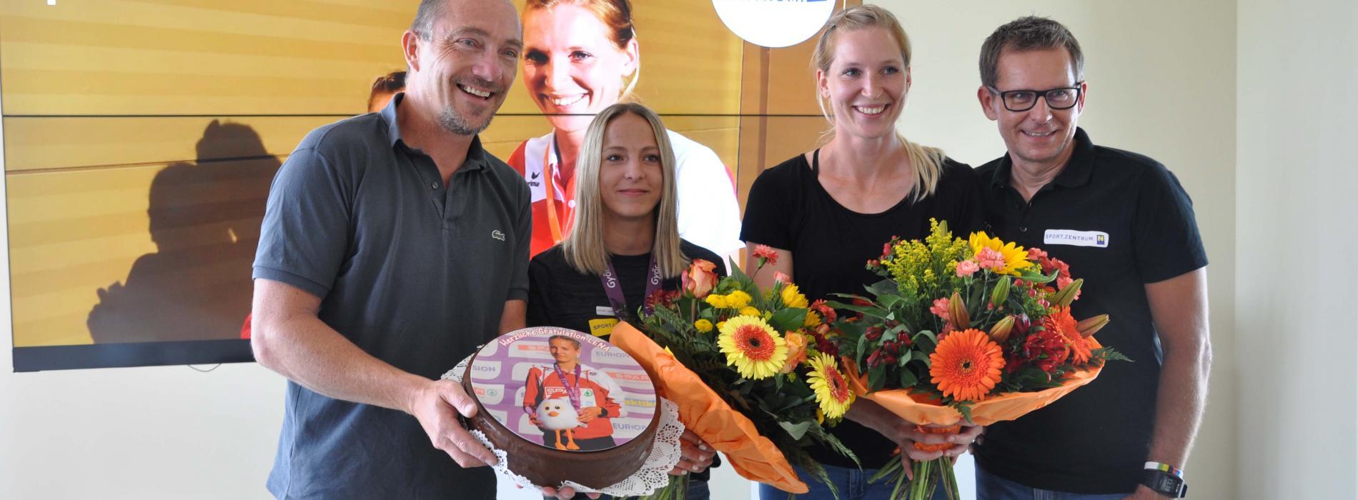 Lena Pressler holt U-18 EM Bronze!