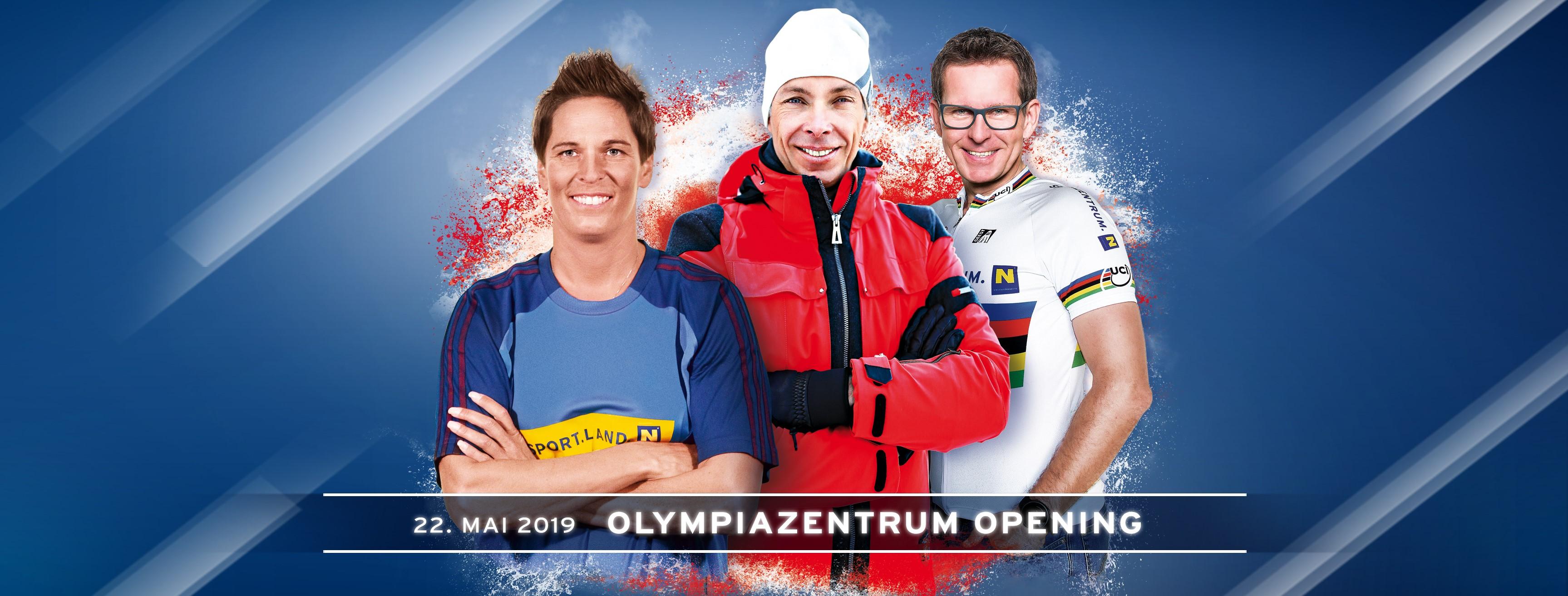 Olympiazentrum Opening